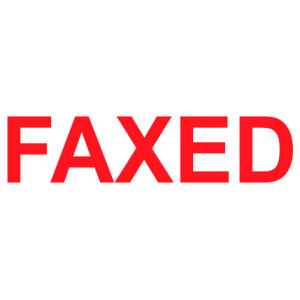 Faxed - Trodat S-Printy