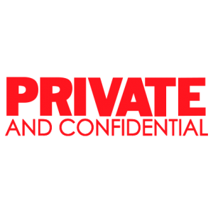 Private and Confidential - Trodat S-Printy