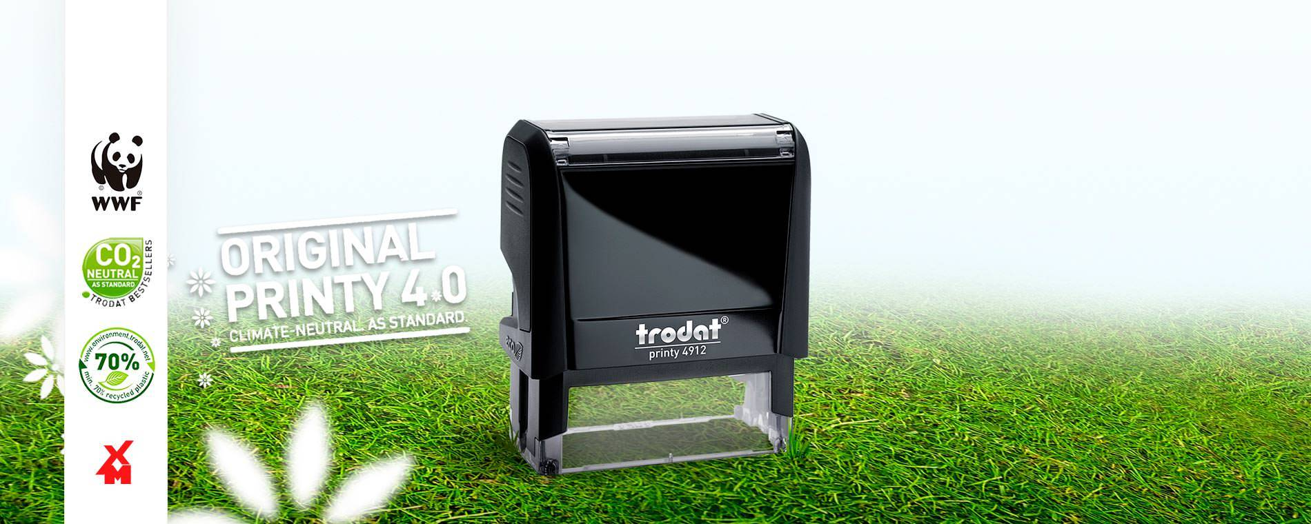 Trodat Printy 4.0 - Climate Neutral - Xpress Marking