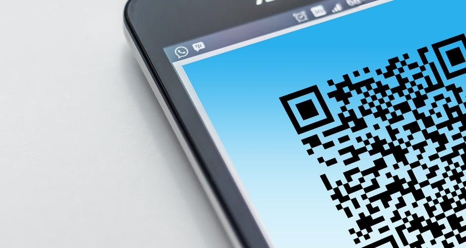 The Use of QR Codes & Rubber Stamps